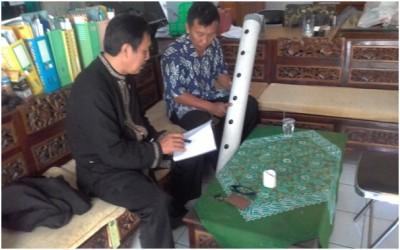 Pengarahan Teknik Pembuatan Media Tanaman Hidroponik dari DLH Kab. Tegal