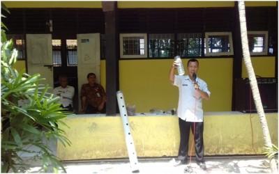 Pelatihan Pembuatan Tanaman Hidroponik dengan Narasumber dari DLH Kab. Tegal.
