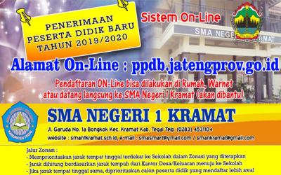 Revisi Aturan PPDB Online SMA Negeri 1 Kramat 2019